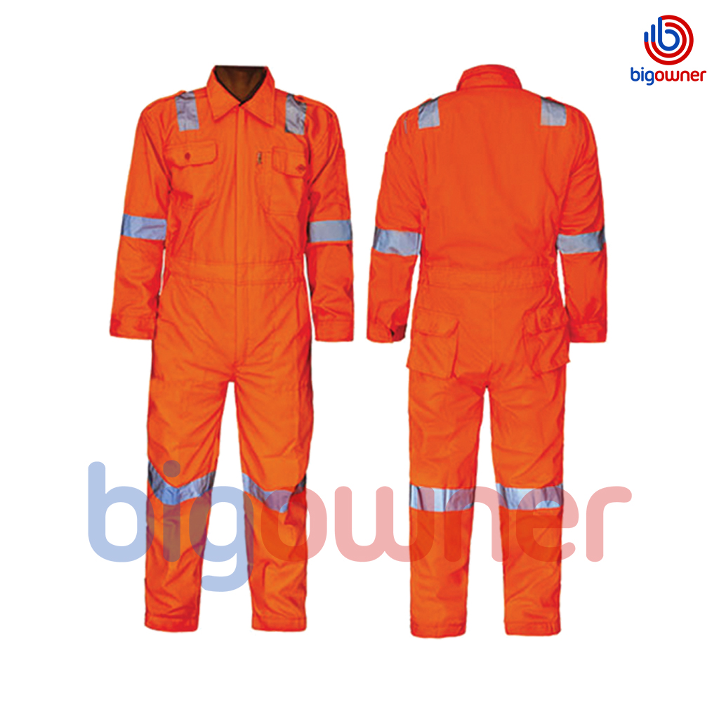 SOS COVERALL ORANGE